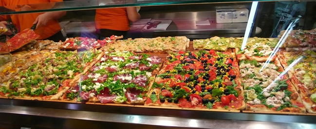 Aprire una pizzeria al taglio for Pizzeria arredamento